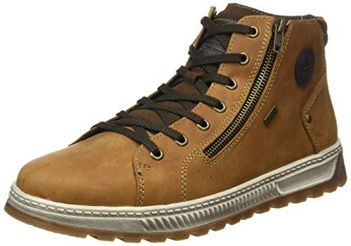 Rieker Herren 37021 Mode-Stiefel, braun, 43 EU