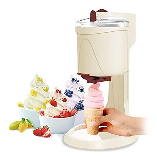 JDYDDSK Eismaschine 1L Mit Kompressor Weiche Eismaschine Für Home Eismaschine Gefrorene Joghurtmaschine Eismaschine Bereits Dessert in 10 Minuten