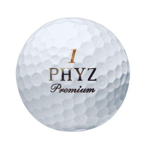 BRIDGESTONE(ブリヂストン)ゴルフボールPHYZプレミアム1ダース(12個入り)ゴールドパールPMGX