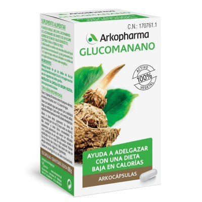 Arkopharma Arkocaps Glucomanano 150 Cap 100 G