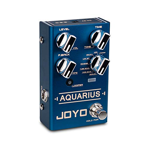 JOYO R-07 Aquarius Multi Mode Delay Looper Guitar...