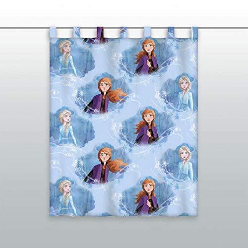 Disney gordijn gordijn gordijn kant-en-klaar gordijn Frozen 2 ELSA Anna 140 x 175 cm