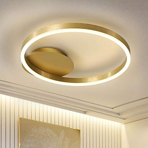 Ceiling Plafond Moderne LED Smart Flush Plafonnier Salon Lampe Lampe De Chambre Lampe De Plafond Ultra-Mince Lampe LED Diamètre Rond 30 Diameter 40CM