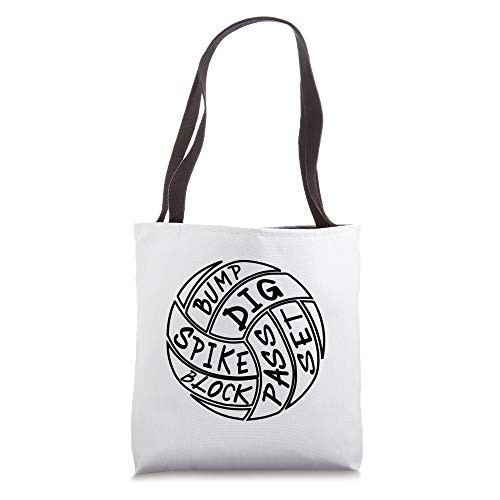 Volleyball Gift Tote Bag