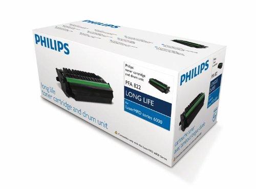 Cartucho de tóner láser Philips Página vida 3000pp Negro Ref PFA821 ✅