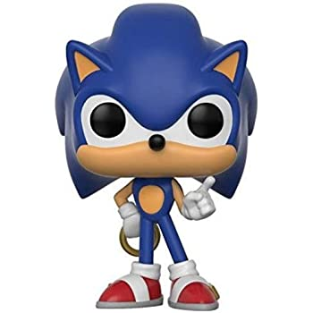 Amazon Com Funko Pop Sonic The Hedgehog Vinyl Figure Toys Games