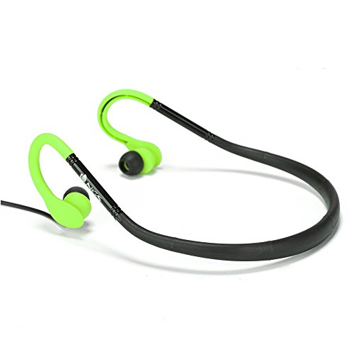 NGS Auriculares Deportivos, Color Verde