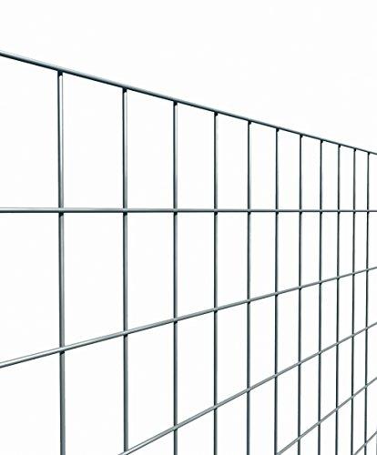 Es Brico Rolle mit 25Meter lang und 120cm hoch von Stahlgitter geschweißt und verzinkt Maschenweite: 50x 75mm für Zaun