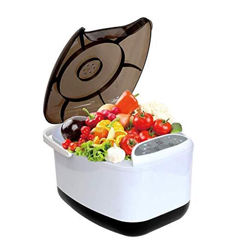 WJSWXS Obst- und Gemüsewaschmaschine - Multifunktions-Ozonreiniger, automatische Lebensmittelmaschine Ozon-Luftreiniger, intelligenter Betrieb, Online-Timing.