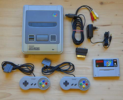 Super Nintendo Konsole mit Super Mario World