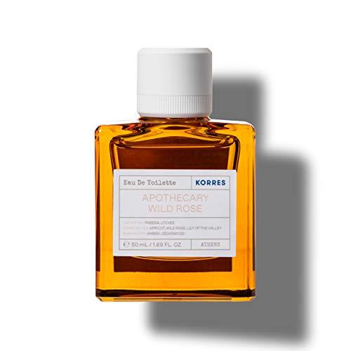Korres APOTHECARY WILD ROSE femme / woman, Eau de Toilette, 1er Pack (1 x 50 ml)