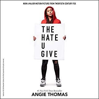 The Hate U Give audiobook cover art