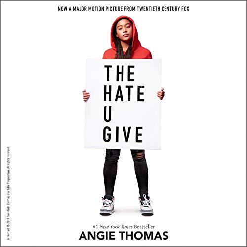 The Hate U Give                   By:                                                                                                                                 Angie Thomas                               Narrated by:                                                                                                                                 Bahni Turpin                      Length: 11 hrs and 40 mins     35,263 ratings     Overall 4.8