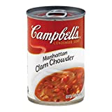 CAMPBELL'S, CHOWDER, .MANHTTN CLAM, Pack of 12, Size 10.75 OZ - No Artificial Ingredients