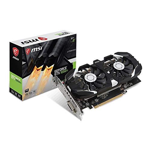 MSI GeForce GTX 1050 Ti 4GT OC GeForce GTX 1050 Ti 4GB GDDR5 scheda video