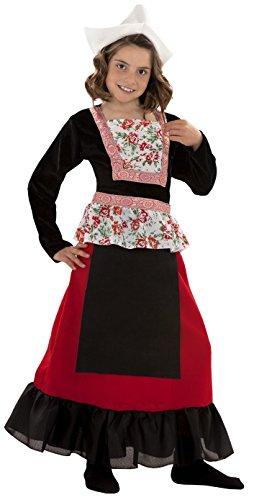 Disfraz de Holandesa para nias de 7 a 9 aos