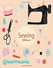 Elegant Sewing Inspired Composition Notebook: Lined Journal Great Gag Gift For Sewing Machine Lovers Seamstresses and Quilters, Ideal For journaling ... Ruled 8.5 x 11 inches 120 pages: gag gifts