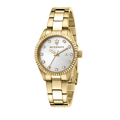 Maserati Reloj Mujer, Colección COMPETIZIONE, en Acero, PVD Oro - R8853100506