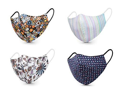Bloke Designer Unisex Reusable Outdoor 100% Cotton Premium Face Masks Cotton Mask...