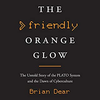 The Friendly Orange Glow audiobook cover art