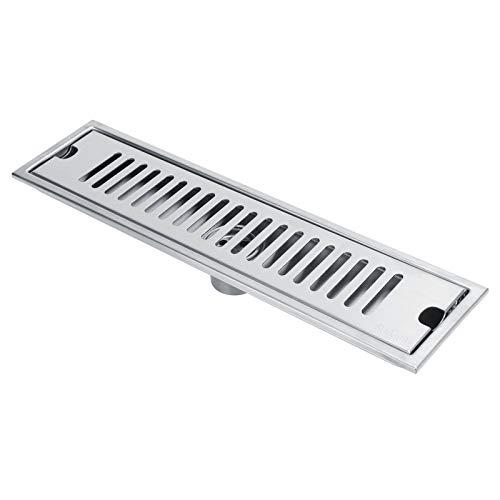 Drenaje de piso Colador de piso Anti-cucarachas Piso de interior Acero inoxidable Anti-olor para cocinas Baños(40cm)