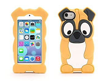 Griffin Pug KaZoo Kids Case for iPod touch 5th/ 6th gen - Fun animal friends for iPod touch  5th gen