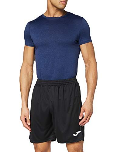 Joma Nobel Pantalones Cortos, Hombres, Negro, XL