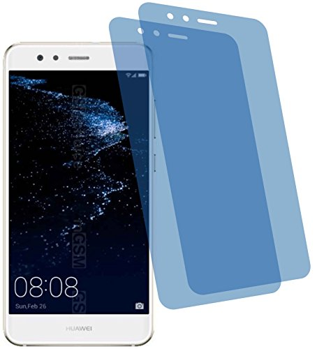 4ProTec I 2X Crystal Clear klar Schutzfolie für Huawei P10 Lite Premium Bildschirmschutzfolie Displayschutzfolie Schutzhülle Bildschirmschutz Bildschirmfolie Folie