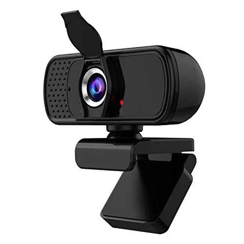 GACOZ 1080P Full HD USB Webcam Webkamera Plug&Play Weitwinkel USB Kamera mit Webcam Abdeckung für Video-Streaming Konferenz Spiele Kompatibel mit Windows/Vista/MAC/Android/TV