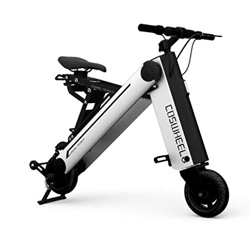 VEVC Scooter eléctrico – Patinete portátil plegable para adultos de 120 kg...