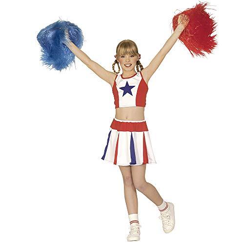 Widmann 38147 - Disfraz de animadora para niño (8 años) (talla 140) , Modelos/colores Surtidos, 1 Unidad