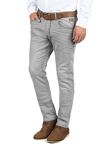 Blend Taifun Herren Jeans Hose Denim Aus Stretch-Material Slim Fit, Größe:W34/34, Farbe:Denim Grey (76205)