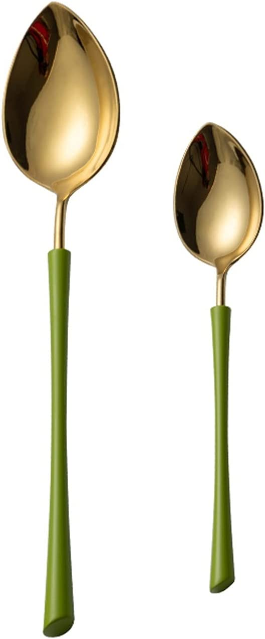 Tablespoons Soup Spoon Dinner Set Austin Mall Max 56% OFF Stainless Color Steel Sp