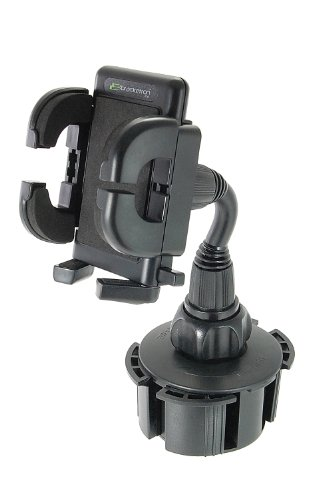 Bracketron Cup-iT Cup holder Mount Phone Cradle For Car Hands Free Law Compatible iPhone X 8 Plus 7 SE 6s 6 5s 5 Samsung Galaxy S9 S8 S7 S6 S5 Note Google Pixel 2 XL LG Nexus Sony UCH-101-BL