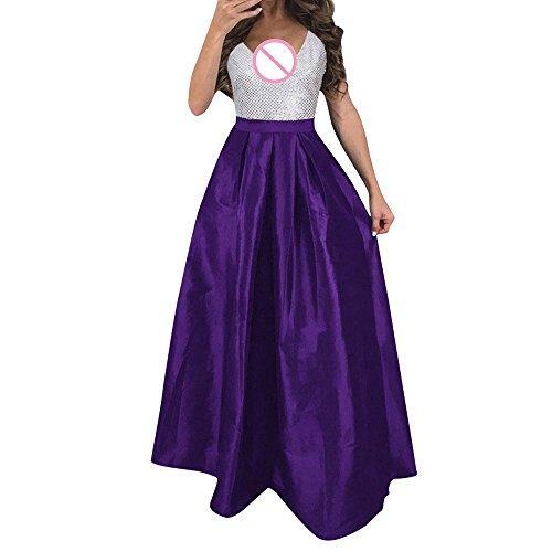 FRAUIT Damen Formale Hochzeitkleid Brautjungfer Lange Abendkleid Partykleid Ball Prom Kleid Frauen Spitze Tüll Brautjungfer Kleid Prinzessin Kleid Festliche Kindermode Kleider Blume Kleider