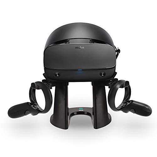 AMVR VR Ständer, Headset-Displayhalter für Oculus Rift oder Rift S Headset und Touch Controller