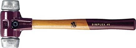 Schonhammer D.40mm 750g Simplex mit Schlageinsatz HALDER silber W-Metall B00VWMG0ZE | Große Auswahl