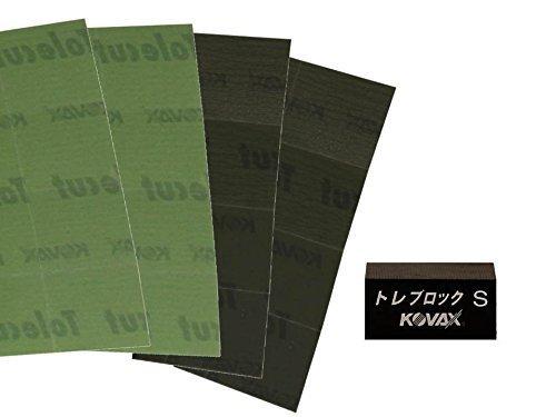 CLEANPRODUCTS Trockenschleif-Set mit KOVAX TOLECUT P2000 & P3000 1/8 Cut und TOLEBLOCK