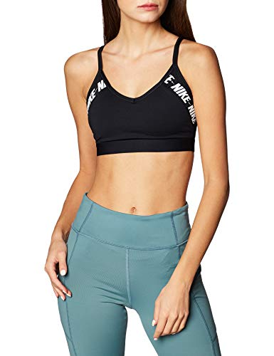 Unbekannt Nike Indy Logo Bra, Damen S Schwarz / Weiß