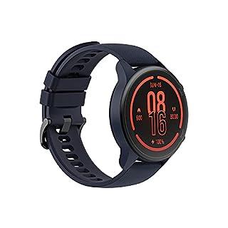 【日本正規代理店品】Xiaomi Mi Watch Miスマートウォッチ スポーツフィットネス腕時計 32g軽量設計 GPS運動記録 着信通知 (ネイビーブルー)