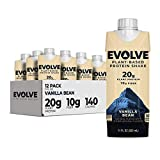 Evolve Plant Based Protein Shake,...