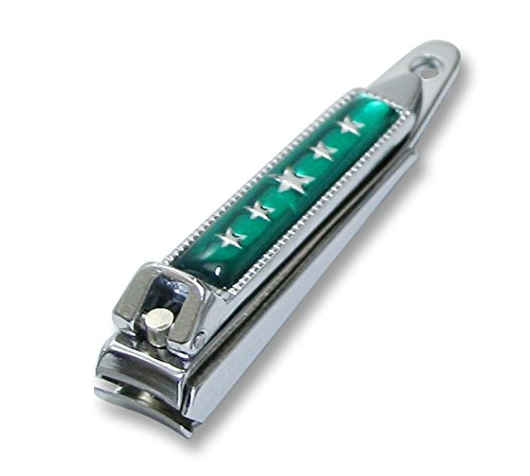 魚リーダーシップウガンダKC-052GR 関の刃物 関兼常 チラーヌ爪切 小 緑