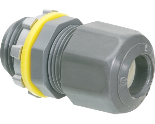 Arlington LPCG50-10 1/2-Inch Strain Relief Electrical Cord Connector, 10-Pack
