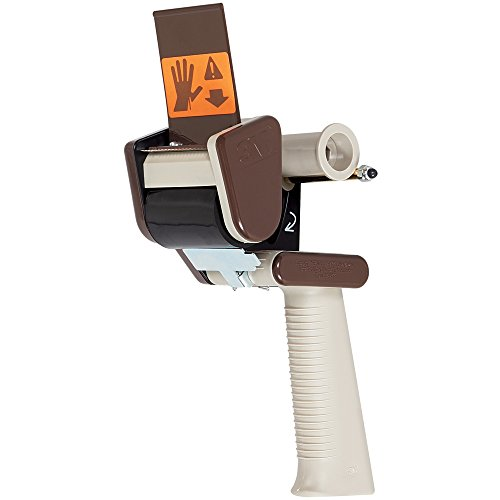 "3M H150 Scotch 2"" Low-Noise Carton Sealing Tape Dispenser, Gray, 1/Each, 3M Stock# 7000056829"