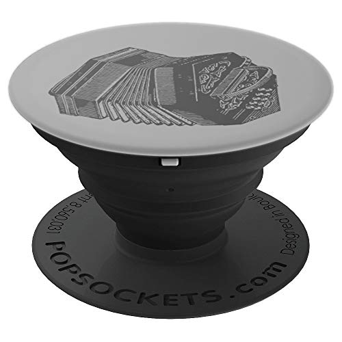 Vintage Bandoneon / Concertina Musician Gift PopSockets Grip and Stand for Phones and Tablets