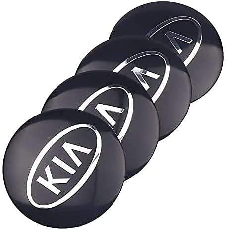 Coche Tapacubos Central Tapas Centrales Para KIA K2 K K3 K5 K9 56mm, Wheel Cubiertas Caps Center Prueba Polvo Aleación Coche Estilo Accesorios