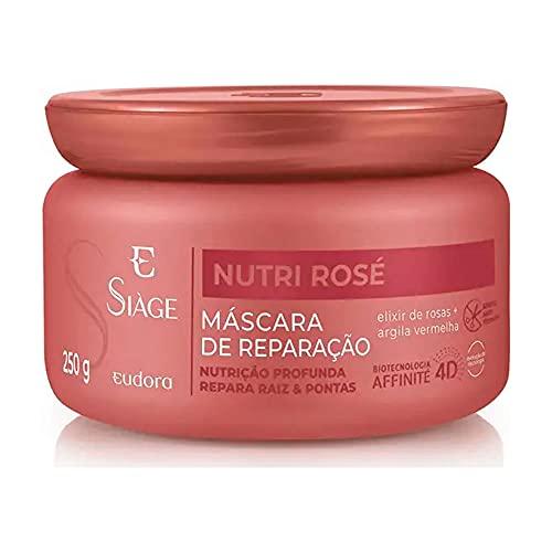 EUDORA SIAGE NUTRI ROSE 4D MASCARA REPARAÇÃO CAPILAR 250g
