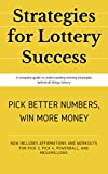 Lottery Master Guide: Strategies for Winning Pick 3, Pick 4, & Pick 5 Lottery & Lotto Games!