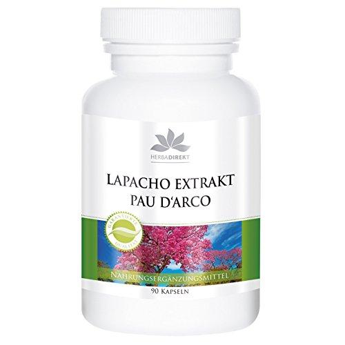 Extracto de Lapacho – Pau D'Arco – 90 comprimidos
