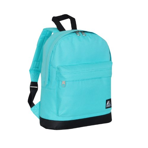 Everest Junior Backpack, Aqua Blue, One Size